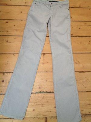 Armani Collezioni Pantalon cinq poches gris clair tissu mixte