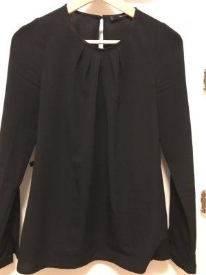 Feine Bluse schwarz von Hallhuber