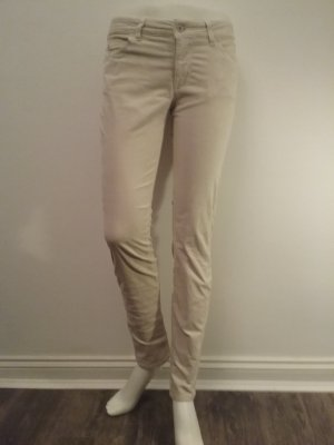 Campus by Marc O'Polo Pantalon en velours côtelé beige clair coton