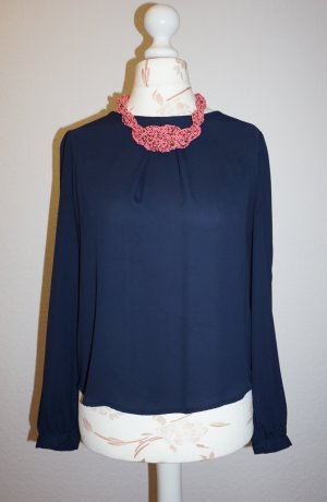 Atmosphere Slip-over Blouse dark blue