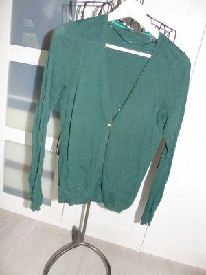 feine grüne Strickjacke von Espirt Gr. S