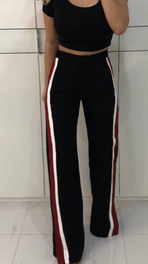 Zara Pantalón de cintura alta multicolor