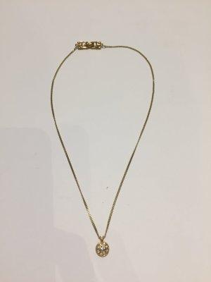 Feine NINA RICCI Halskette mit Logo-Anhänger