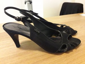 Esprit High-Heeled Sandals black