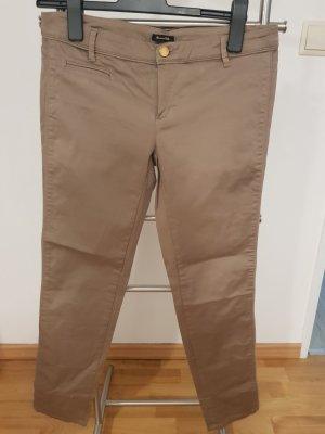 Feine Slim-fit Hose von Massimo Dutti Farbe Grau-Braun