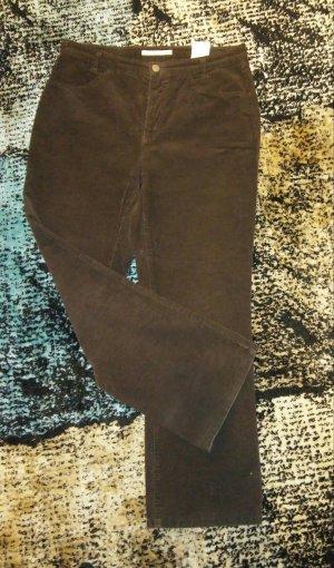 Mac Pantalón de pana marrón-marrón oscuro