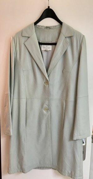 ae elegance Abrigo verde grisáceo-azul bebé