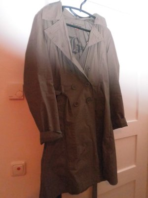Heavy Raincoat olive green