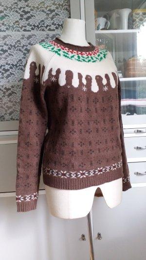 Norwegian Sweater multicolored merino wool