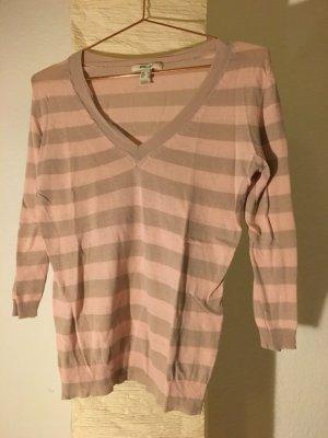 Feiner Pullover rosa/beige von MNG Suit