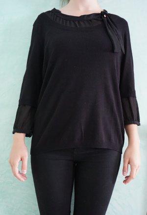 Betty Barclay Sweater zwart Gemengd weefsel