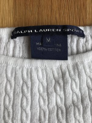 Polo Ralph Lauren Cable Sweater white