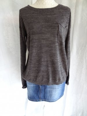 Edc Esprit Knitted Jumper anthracite