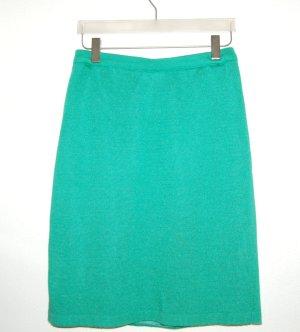 Menke Jupe tricotée vert tissu mixte