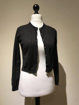 Zara Cardigan tricotés gris anthracite