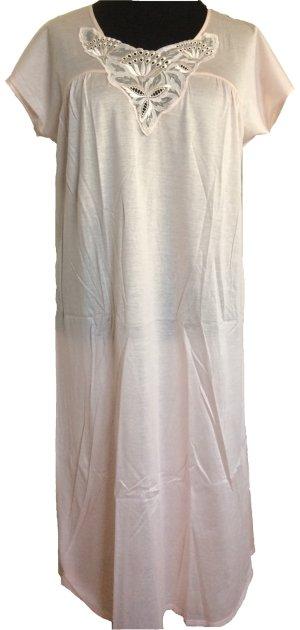 Feines Nachthemd aus mercerisierter Baumwolle