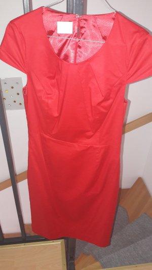 Feines rotes Kleid ( auch Büro)