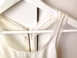 Topshop Backless Top cream