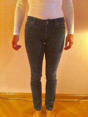 Feinsamtige Skinny Hose