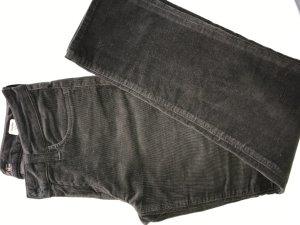 Mavi Jeans Co. Pantalón de pana marrón oscuro tejido mezclado