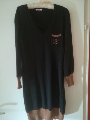 Blugirl Folies Woolen Dress black-bronze-colored