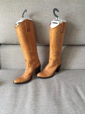 Feinstes weiches Leder Stiefel von Bartu