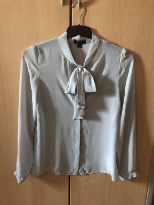 Amisu Blouse transparente gris clair