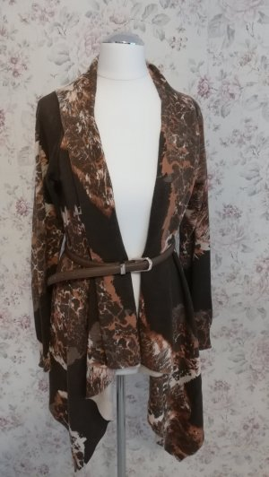 Best Connections Knitted Cardigan light brown-brown
