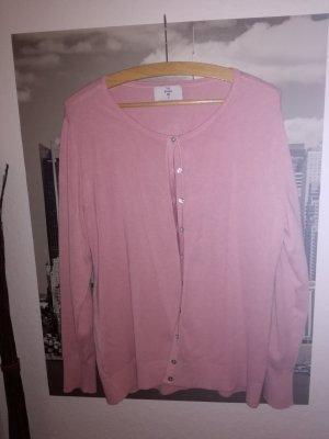 Feinstrick Jacke in rosa