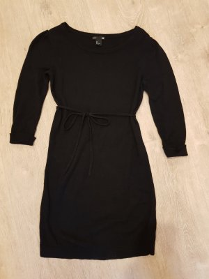 HM Sweater Dress black