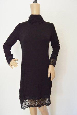 Feinstrick Kleid von Tredy gr.38 spitze