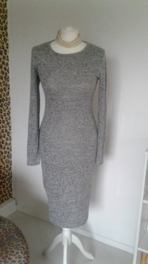Amisu Midi Dress light grey-grey