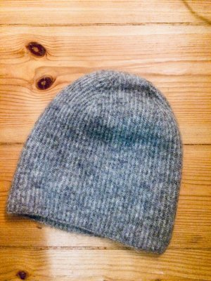 Selected Femme Knitted Hat light grey