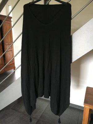 Feinstrick Poncho schwarz onesize Bonita