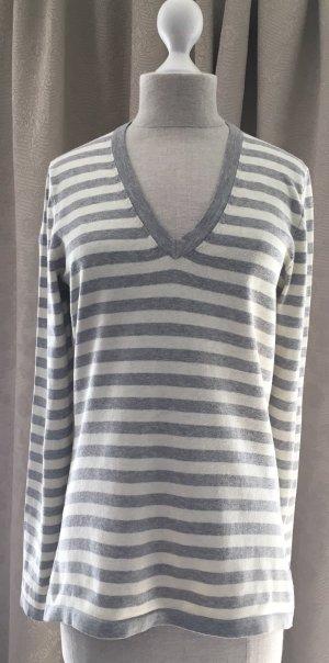 Tommy Hilfiger V-Neck Sweater oatmeal-grey
