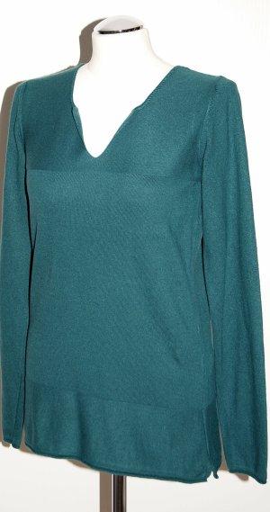 Feinstrick-Pullover mit Kaschmir