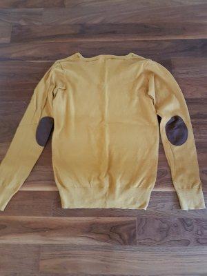 Feinstrick Pullover mit V-Ausschnitt
