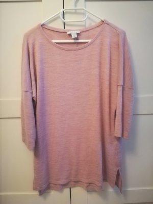Feinstrick-Shirt rosa