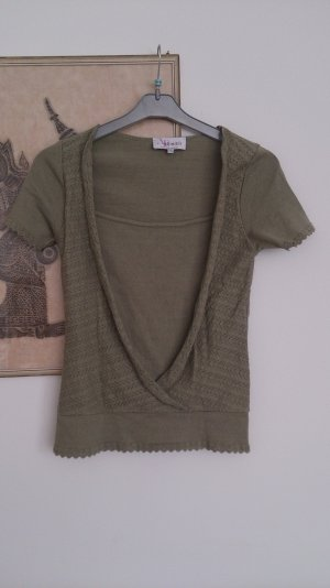 Armand Thiery Knitted Jumper green grey