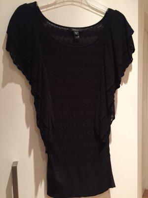 Feinstrick top, schwarz, gr S, Mango suit