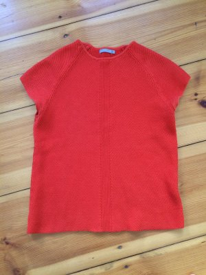 COS Knitted Top neon orange