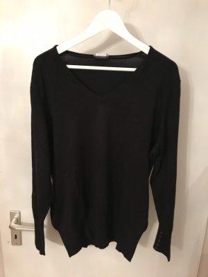 Taifun V-Neck Sweater black