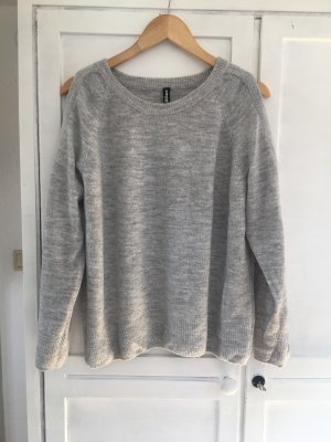 Knitted Sweater light grey