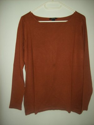 Esmara Knitted Sweater cognac-coloured