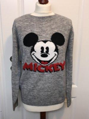 Feinstrickpullover - Micky Maus