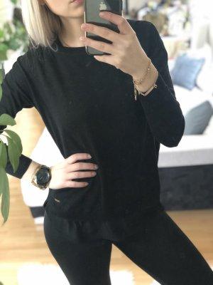 Esprit Kraagloze sweater zwart
