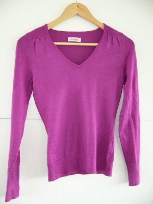 Feinstrickpullover Orsay pink/violett XS 34