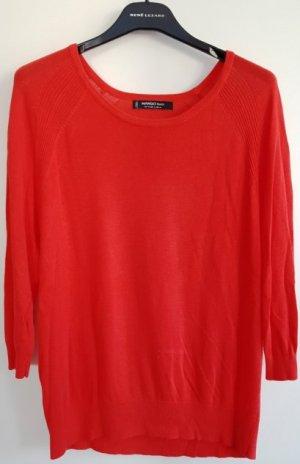 Mango Kraagloze sweater veelkleurig