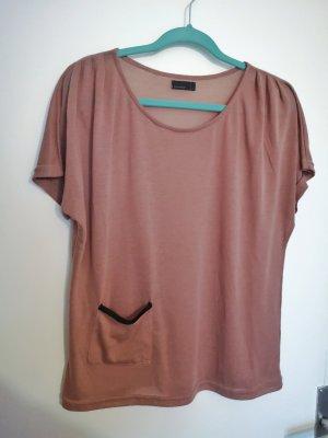 Vero Moda Camisa tejida rosa empolvado