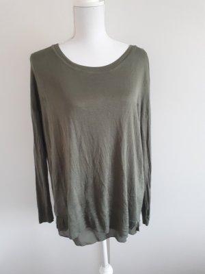 Feinstrickshirt Shirt Strickshirt